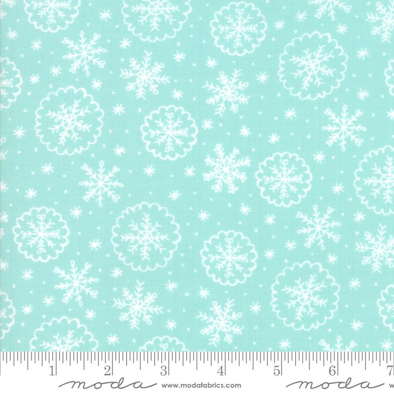 Deck the Halls - Snowflake -  Mint
