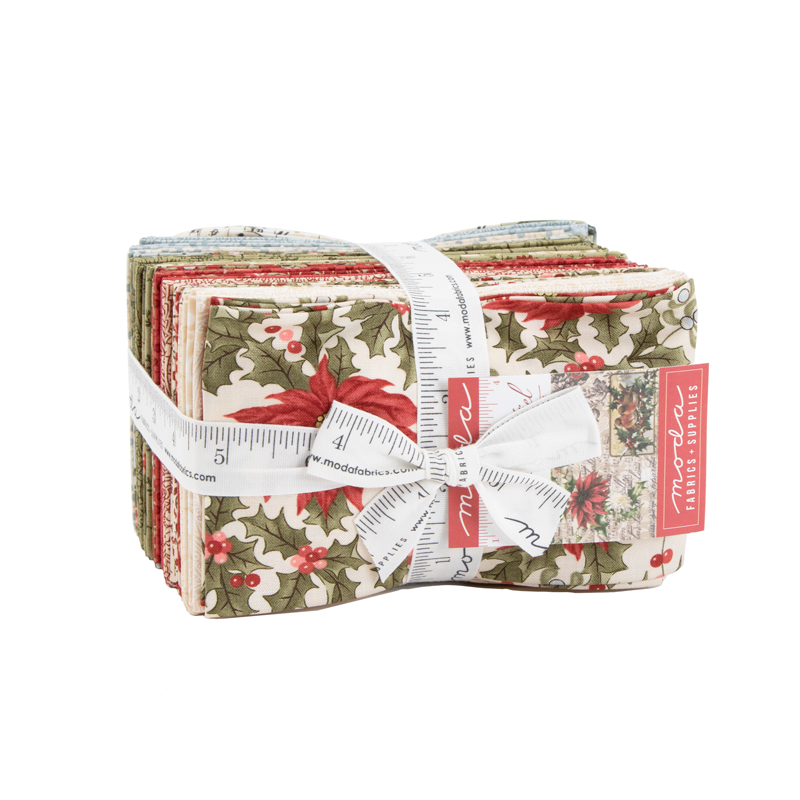 Marches De Noel Fat Quarter Pack 36pcs