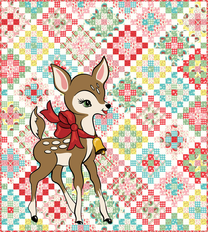 Deer Christmas Kit by Urban Chiks