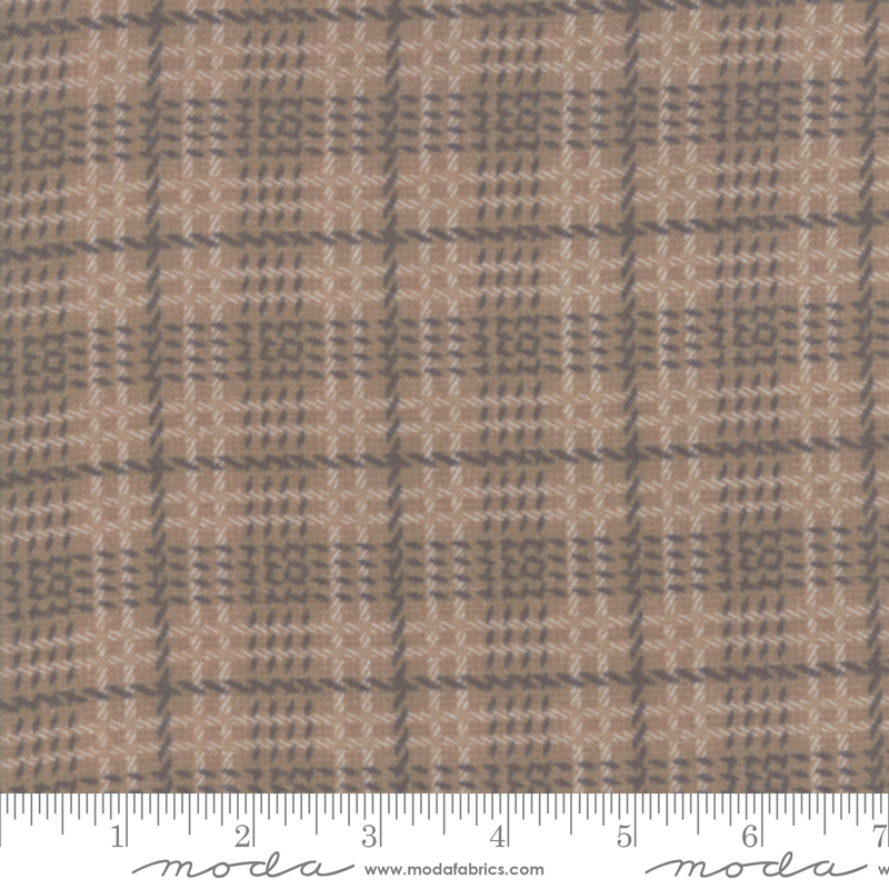 Farmhouse Flannels II Toast Plaid 49102 15F