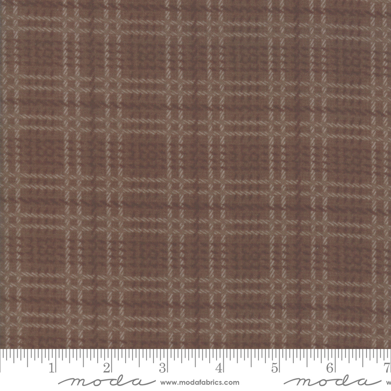 Farmhouse Flannels II Mocha Plaid 49102 16F