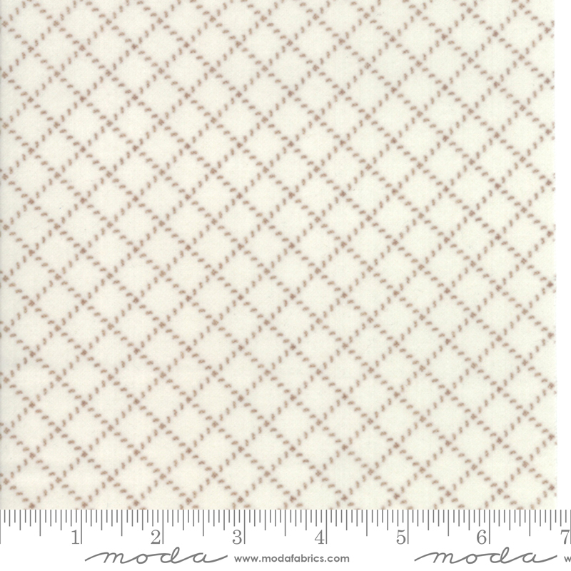 Farmhouse Flannels II Cream Toast 49105 17F