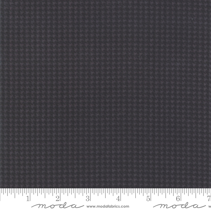 Moda Farmhouse Flannels II 49106-21F Iron Graphite