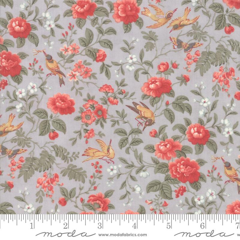 Moda Daybreak Floral - Silver