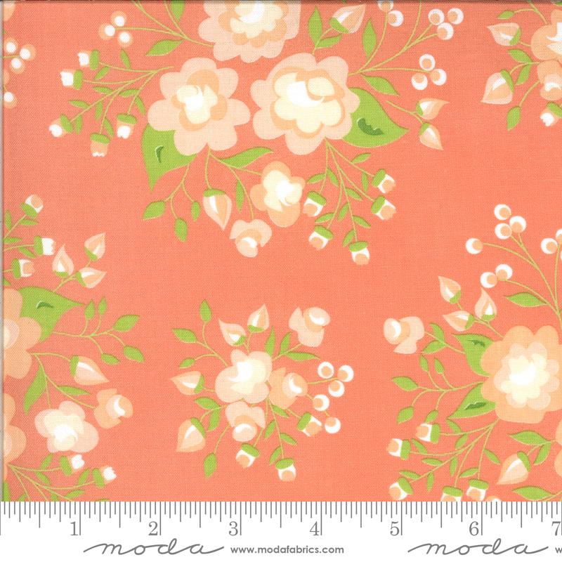 Apricot & Ash - Rose Garden - Coral