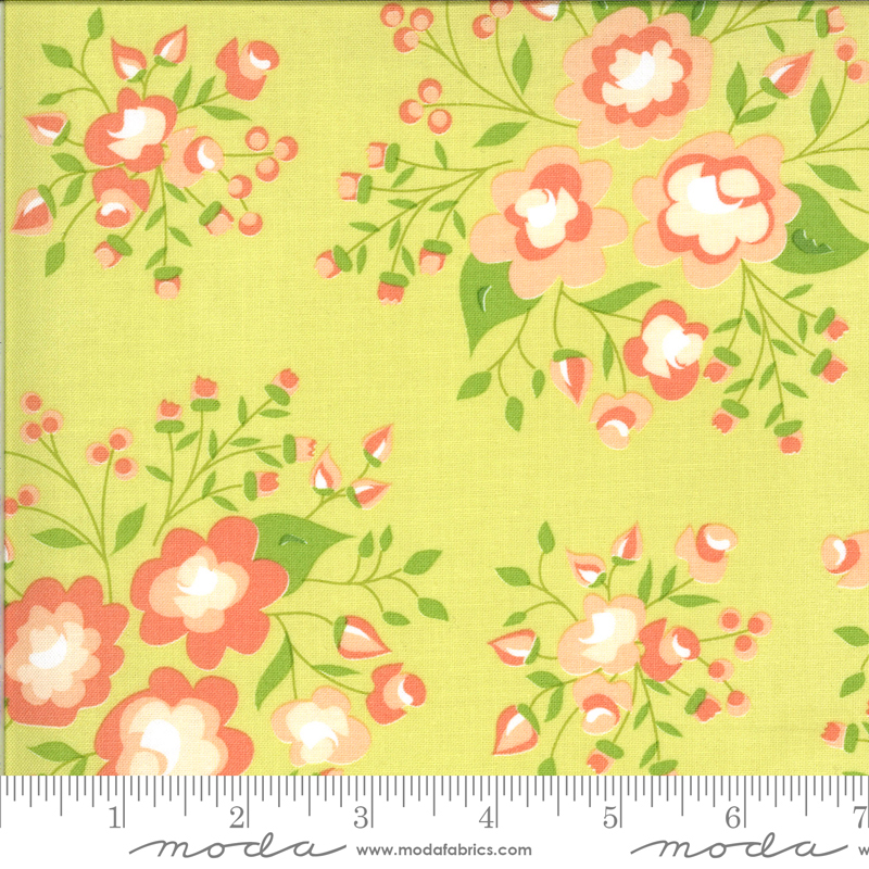 Apricot Ash - Rose Garden Light Lime