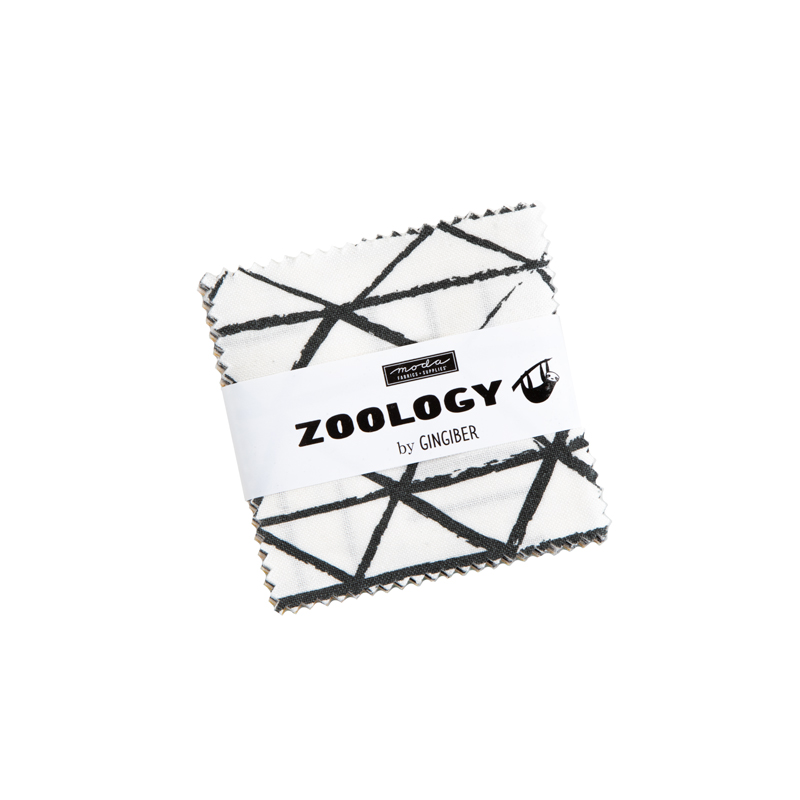 48300MC Zoology Mini Charm Pack Moda