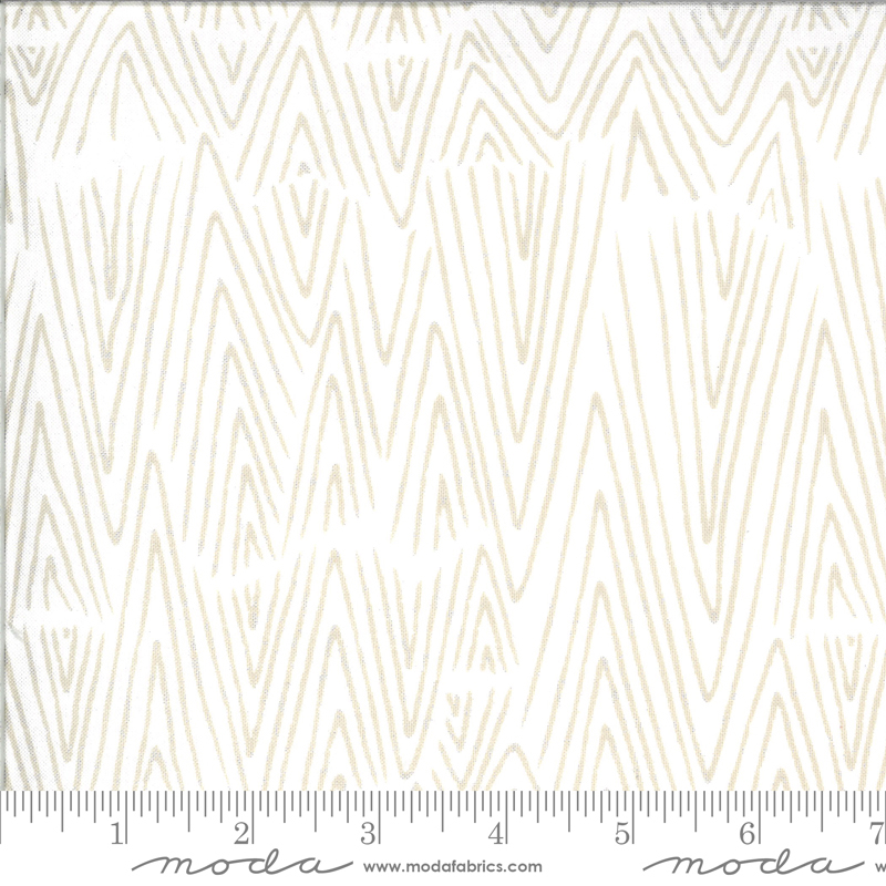 48302 11 Ivory Feather from Zoology by Gingiber Moda