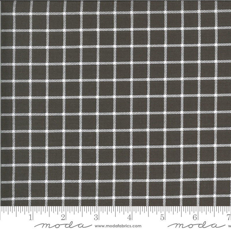On The Farm Country Checker Grey by Stacy Iest Hsu