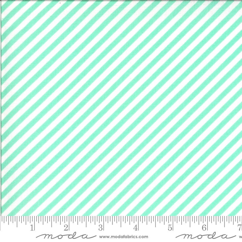 Shine On 55215-13 Stripe Aqua