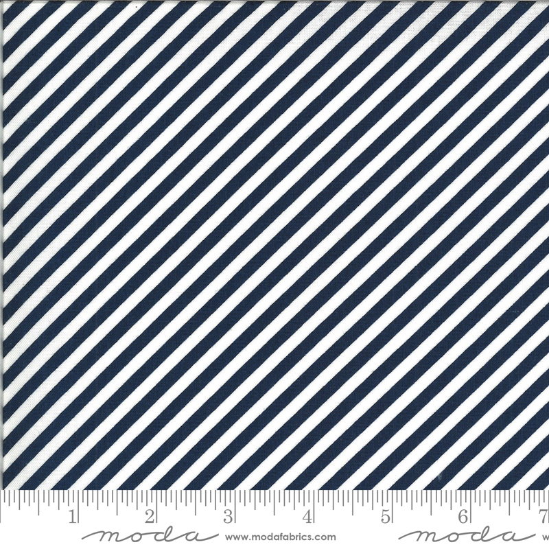 Shine On Stripe Navy 55215 17