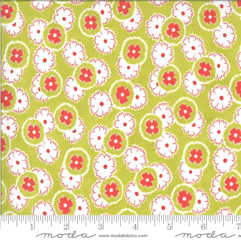 Figs Shirtings Multi Floral Meadow20392 15