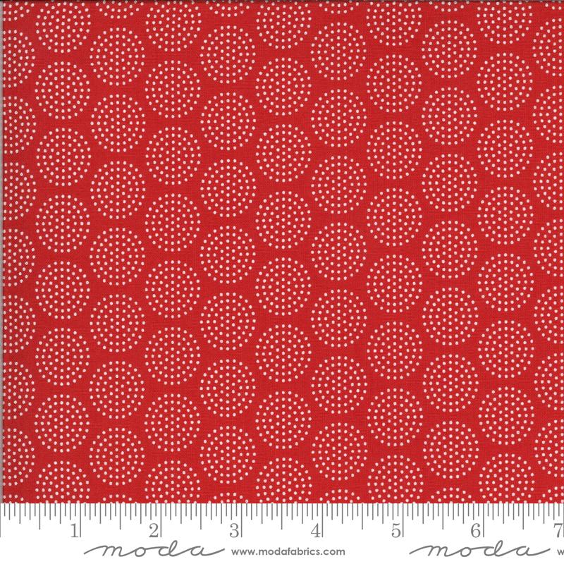 Animal Crackers 5806-11B Apple Red