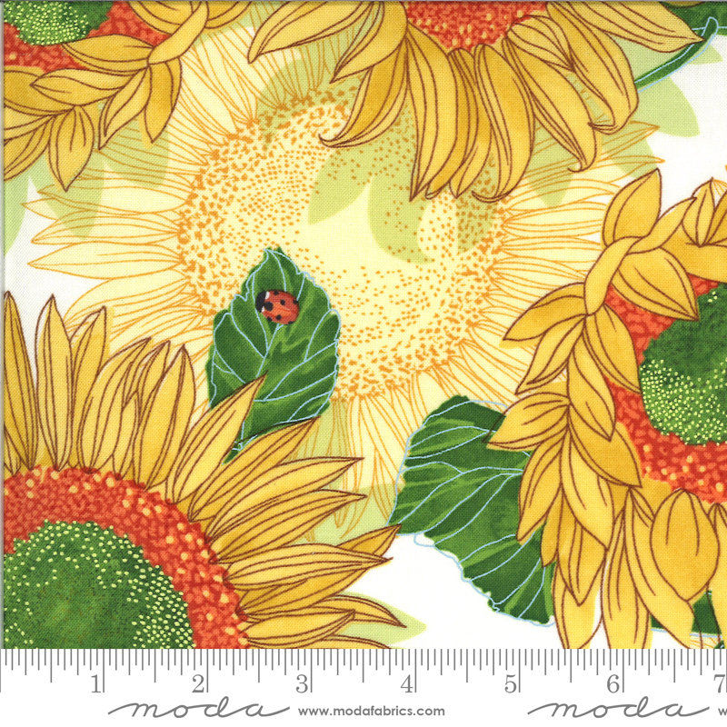 Solana Sunflowers Cream 48680 11
