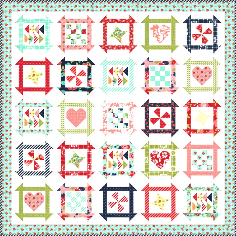 Shine On Quilt Kit