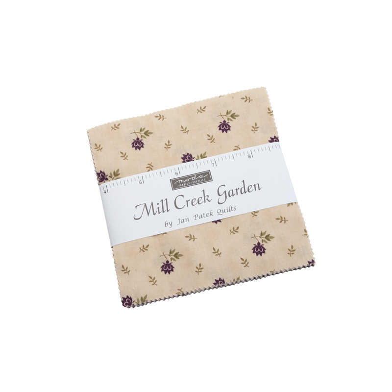 Mill Creek Garden : Charm Pack - (42) 5x5 squares - Jan Patek