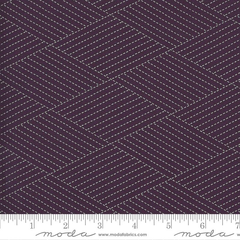 Mill Creek Garden Diamond Stitches - Purple
