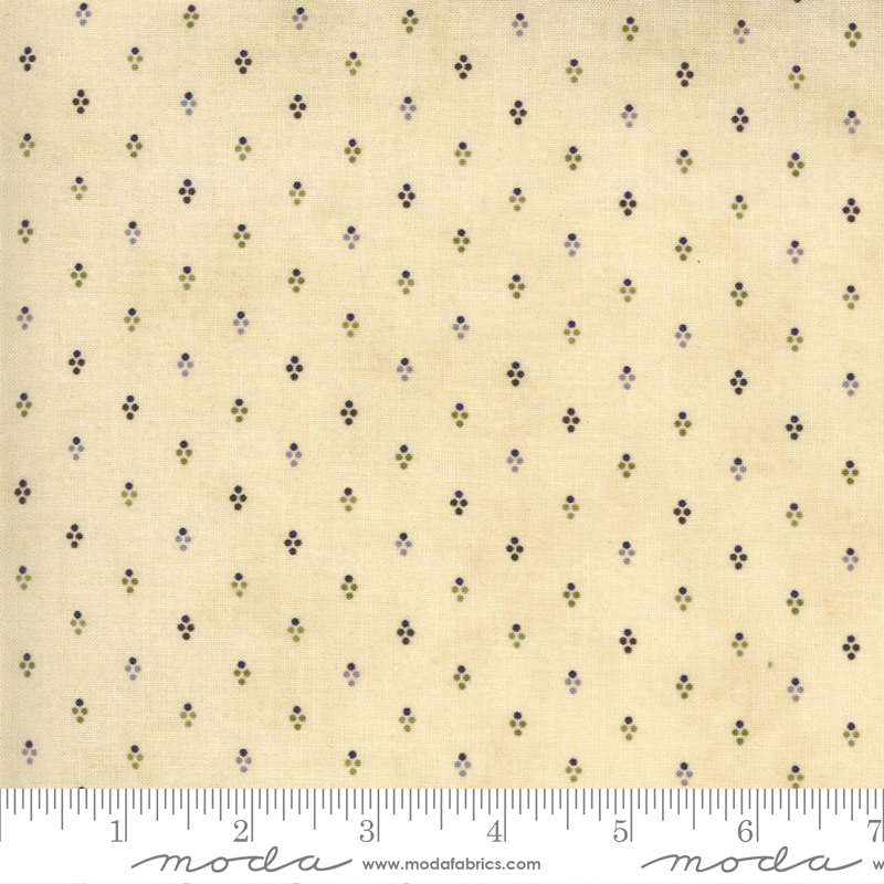 Mill Creek Garden by Jan Patek - Dots - Ivory - Moda 2245 11