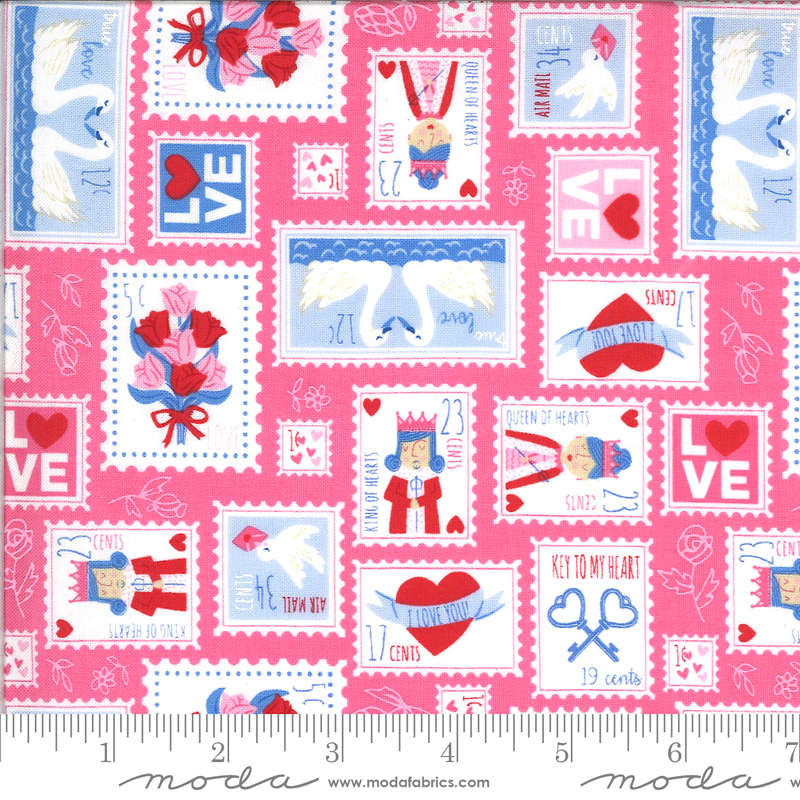 Be Mine Sweetheart Cotton - Pink