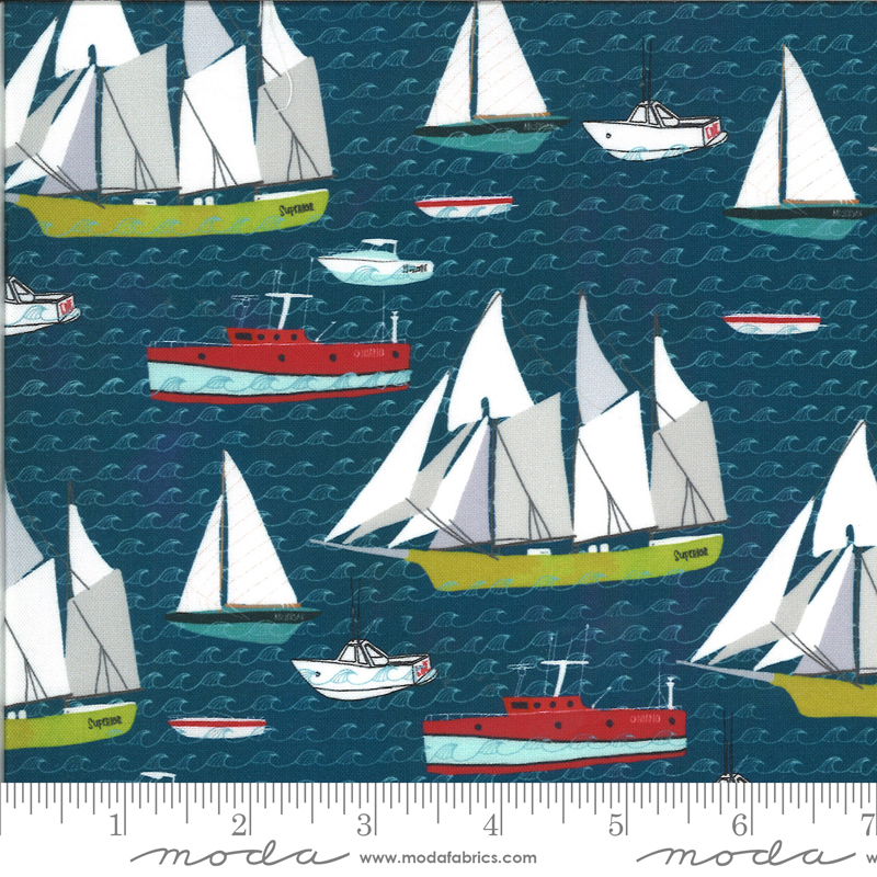 Lakeside Story Sailcloth - Boats