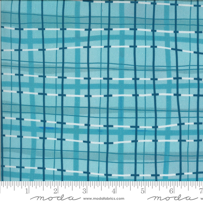 Lakeside Story Freshwater - Plaid Blanket