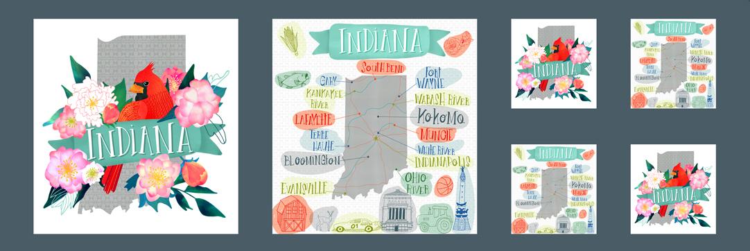 Lakeside Story Panel - Indiana