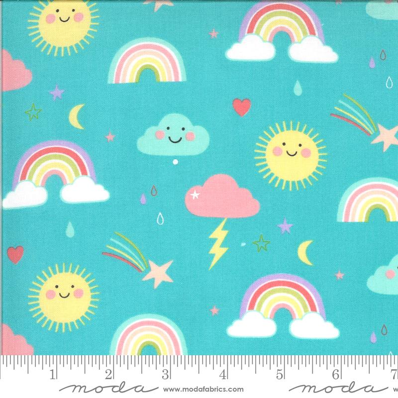 Hello Sunshine Rainbows Aqua 35350 16