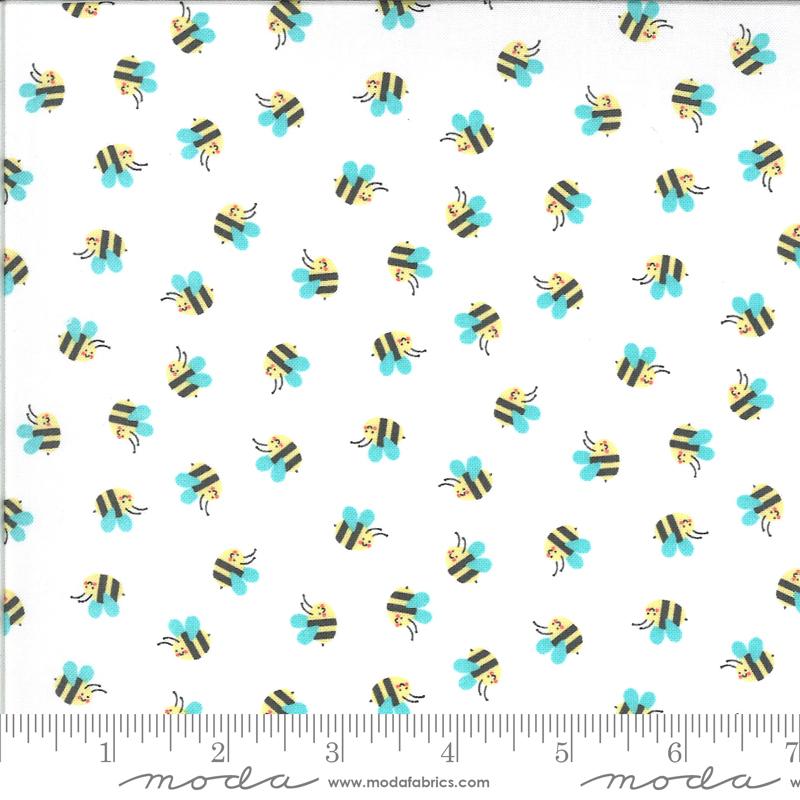 Hello Sunshine Bees White