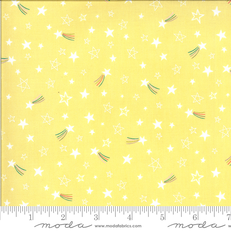 Hello Sunshine by Abi Hall - Stars - Yellow - Moda 35354 19