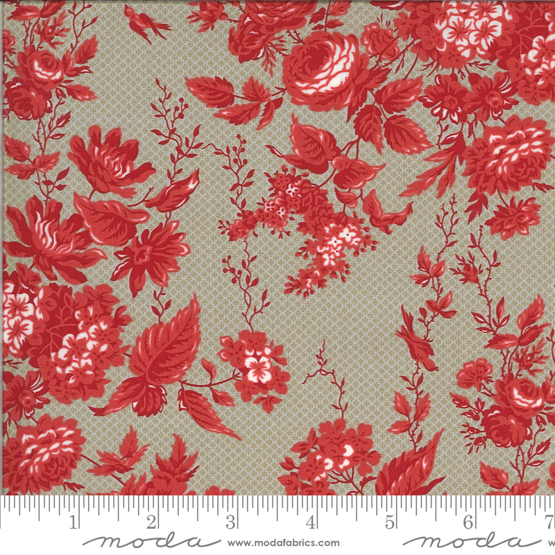 Roselyn Floral Taupe