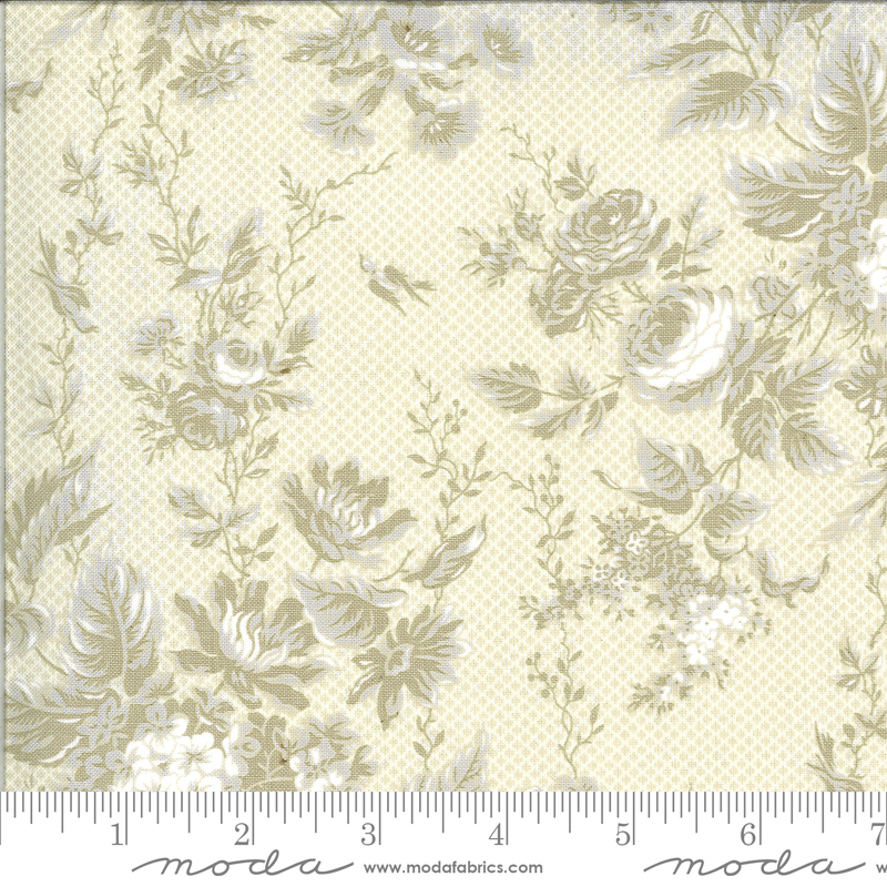 Roselyn Floral Tonal Ivory