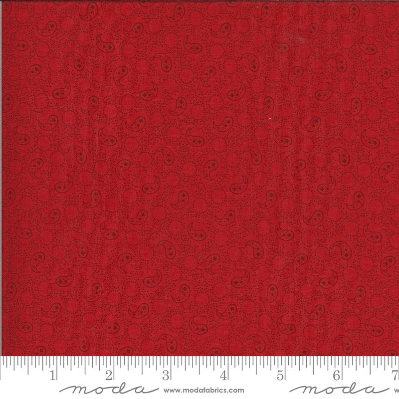 14915 13 Roselyn Paisley Scarlet