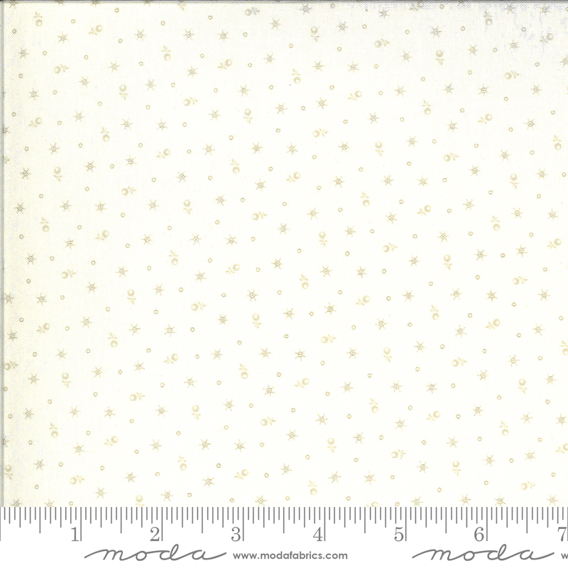 514916-16 Roselyn Tiny Calico - Ivory (21C)
