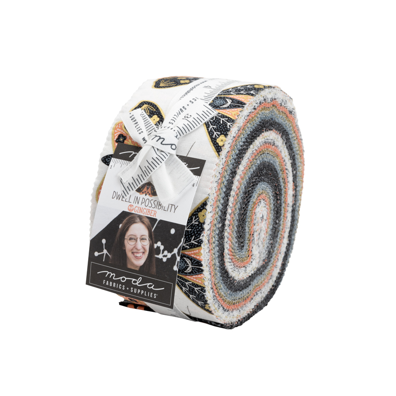 48310JR Dwell Possibility Jelly Roll® by Gingiber