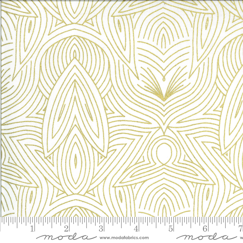 Dwell Possibility Nouveau in Ivory Gold 48316 33M