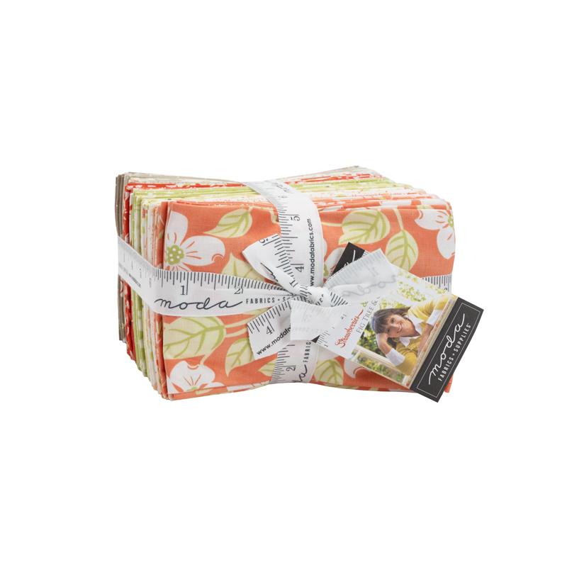 Strawberries Rhubarb Fat Eighth Bundle (9 x 22 Cuts) (40 pieces) (Fig Tree &n Co)