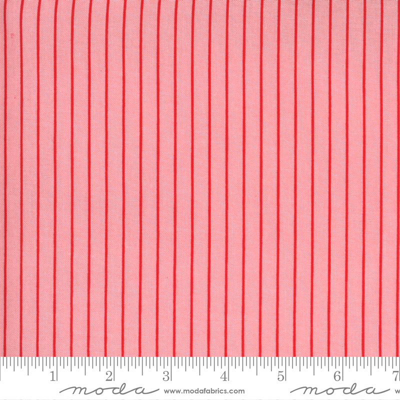 55228-13 Sunday Stroll / Wide Stripe - Pink