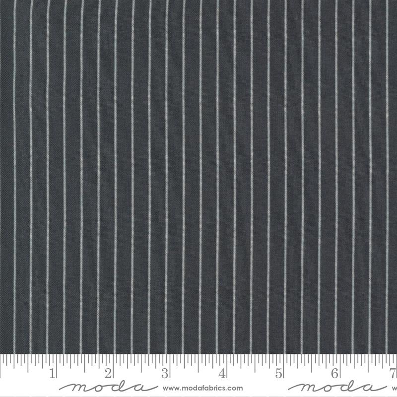 55228-18 Sunday Stroll / Wide Stripe - Grey
