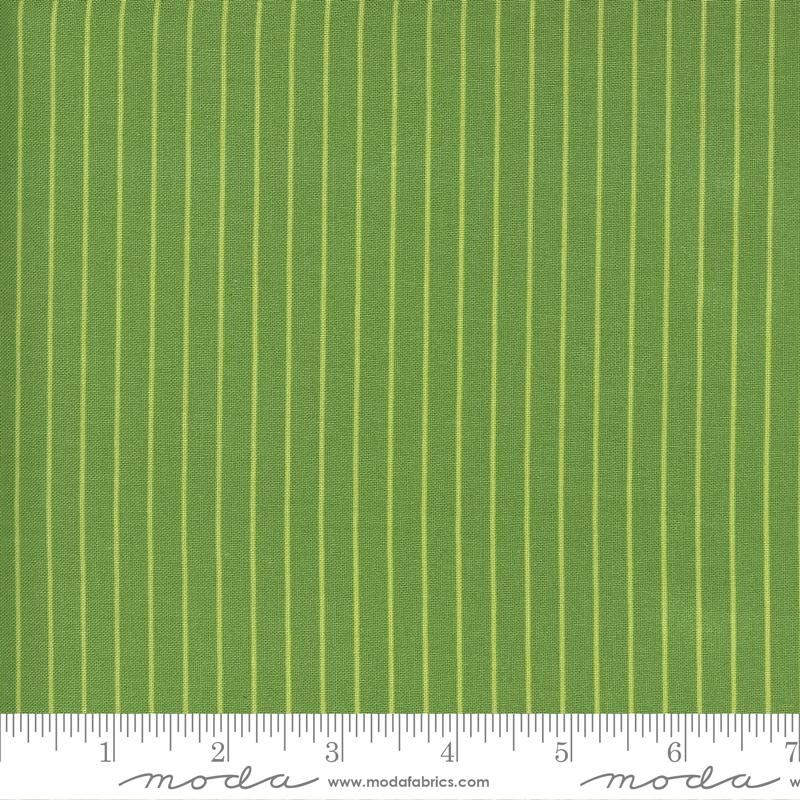 Sunday Stroll Wide Stripe Green