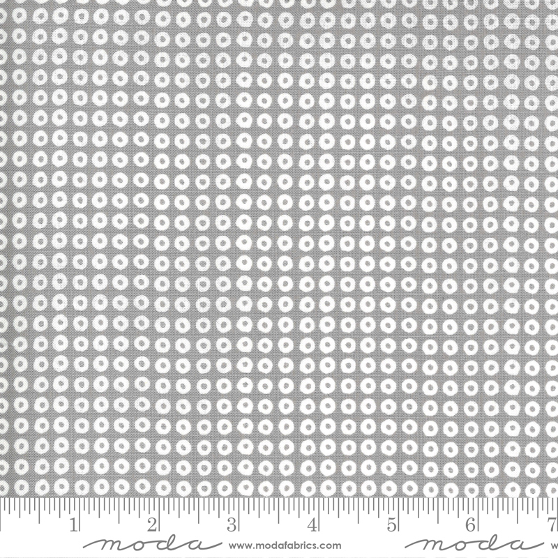Spring Chicken Gray Dots