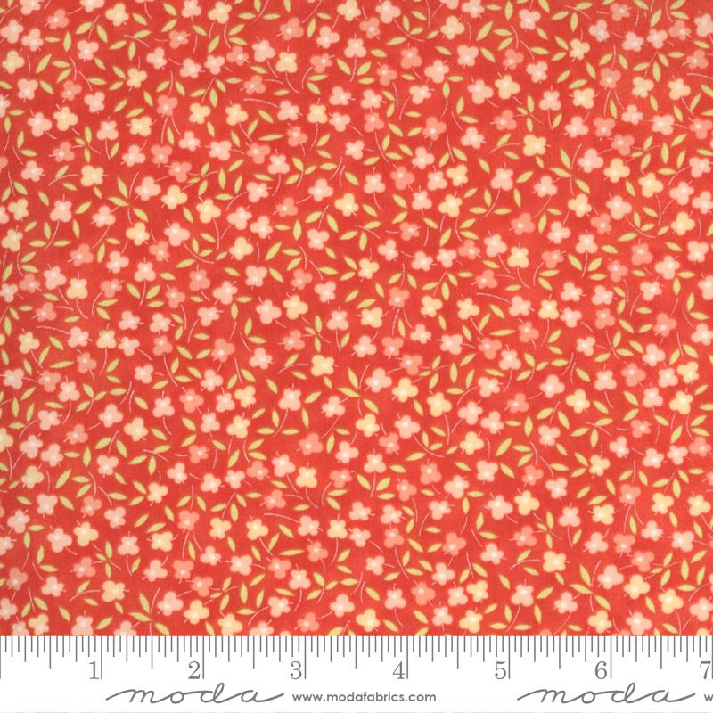 Moda Strawberries Rhubarb Strawberry by Fig Tree 20406 11