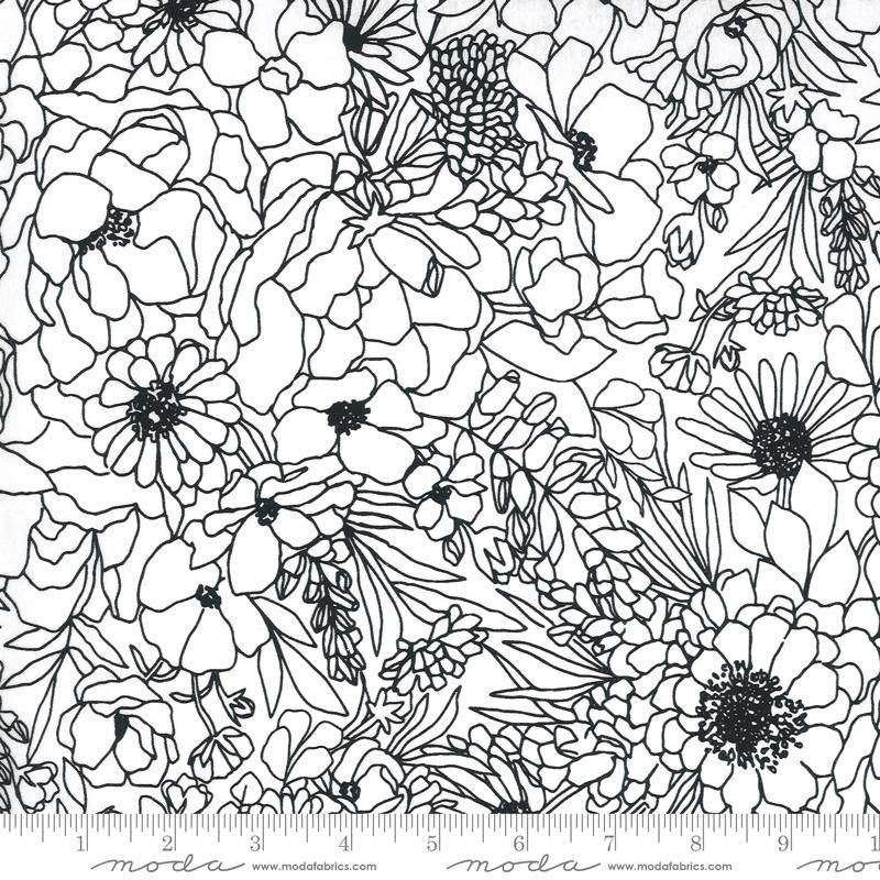 Illustrations by Alli K Designs - Modern Florals Paper