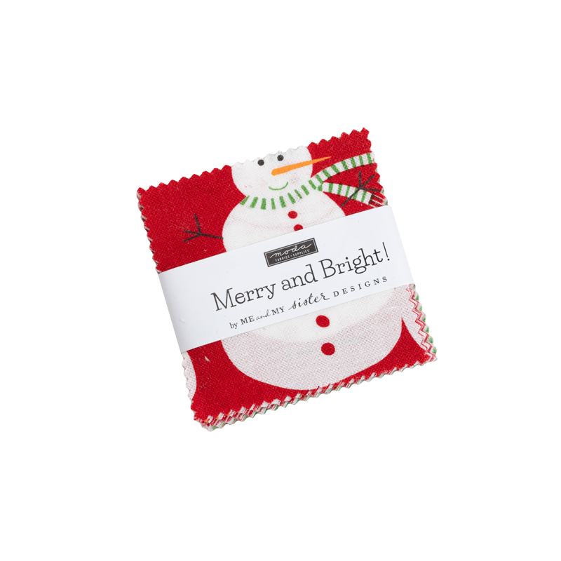Merry And Bright Mini Charm