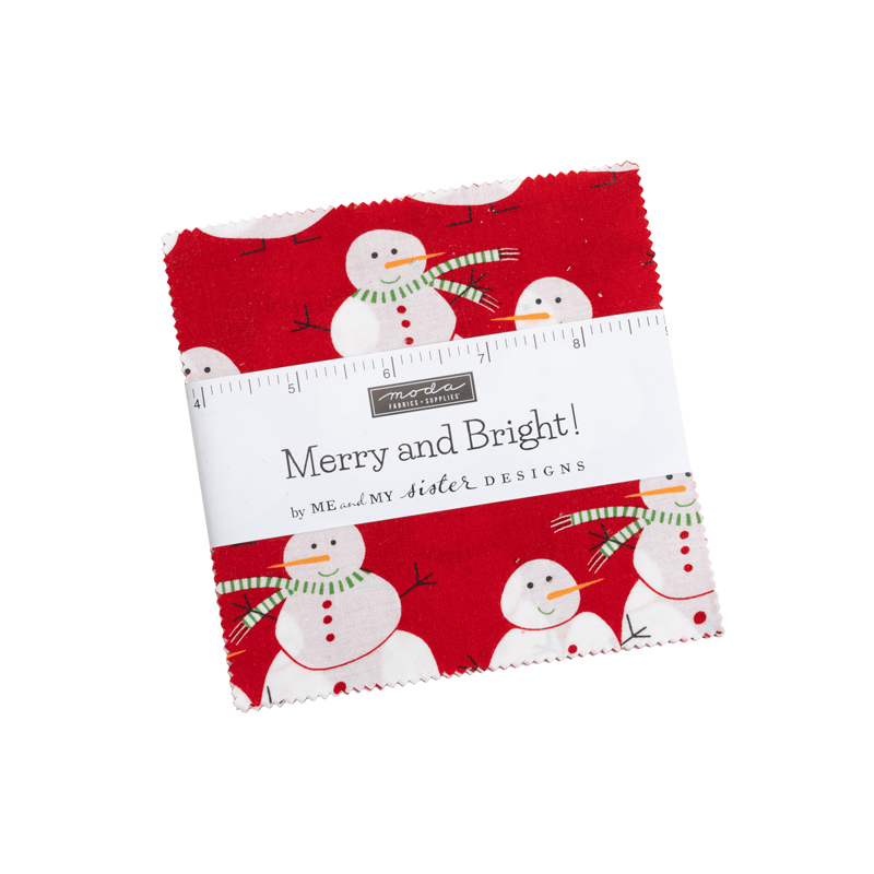 Merry And Bright Charm Pack by Me and My Sister Designs