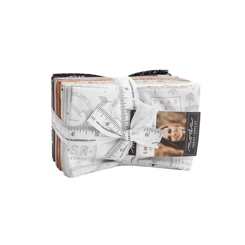 Smoke & Rust Fat Eight Bundle by Lella Boutique for Moda 5130F8