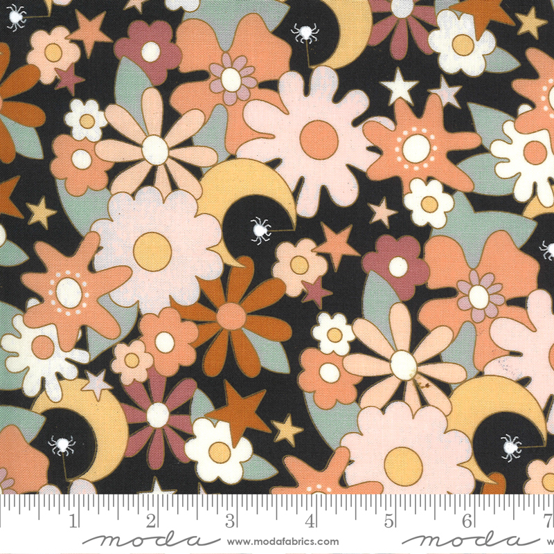 Moda Kitty Corn Midnight Twilight Garden (pre-order) May