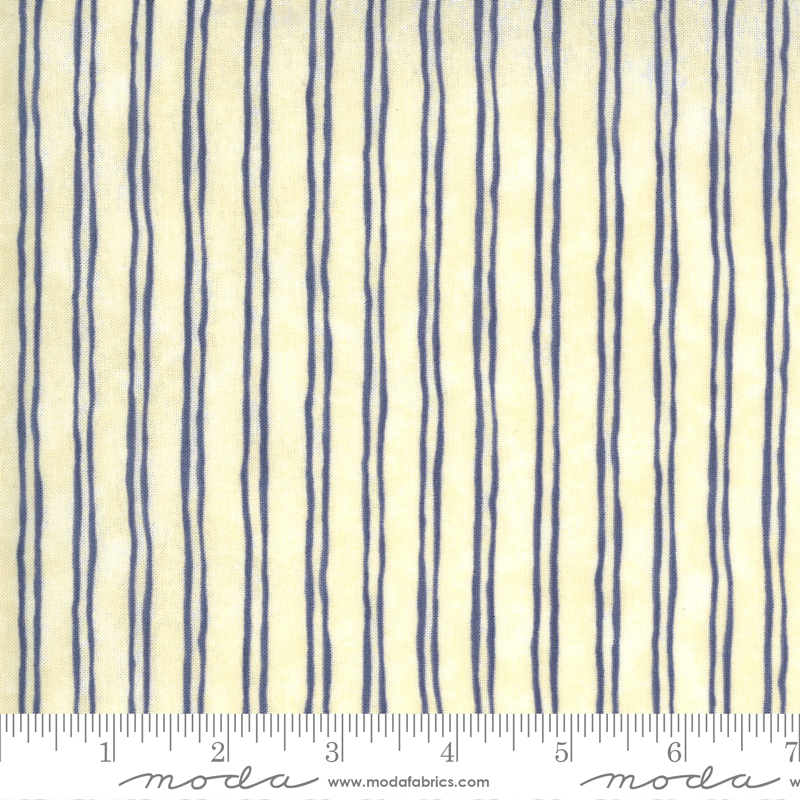Violet Hill Eggshell Lavender - Stripes