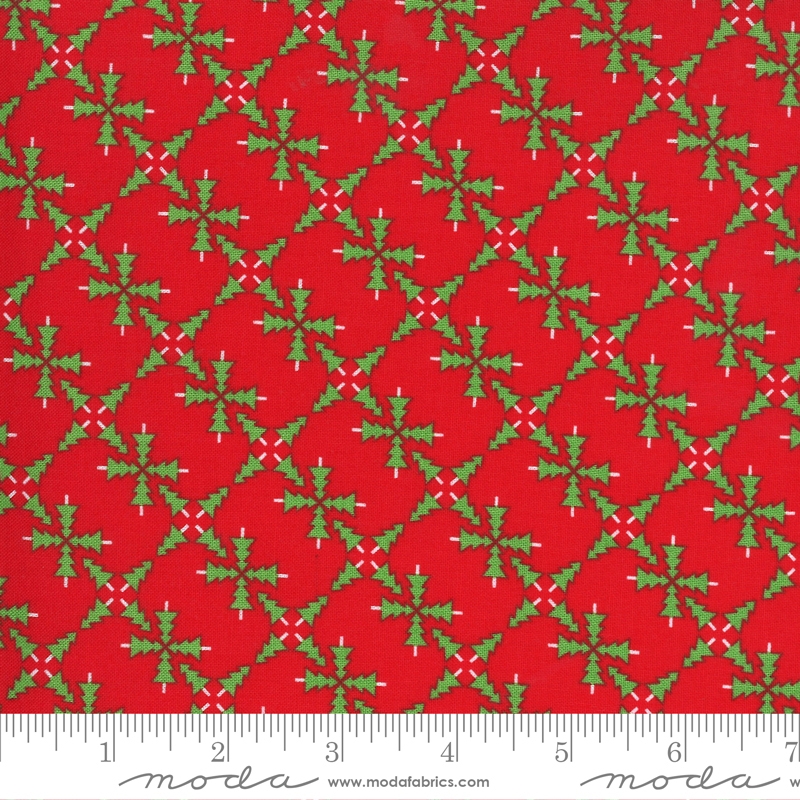 Merry and Bright - 22401-11 - Poinsettia Red