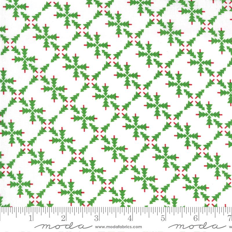 Merry Bright White Green