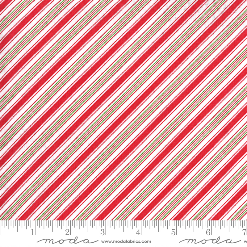 522407 23 Merry Bright - Red/Green Strip (21F)